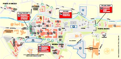 Cartina Ospedale Careggi Firenze.Sedi E Strutture Corso Di Studio Corso Di Laurea